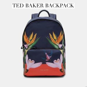 NWT Ted Baker Tropical Oasis Backpack